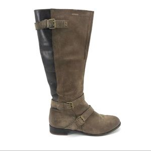 Shoes - Ugg Tall Suede Boots 8.5 Brown Riding Leather